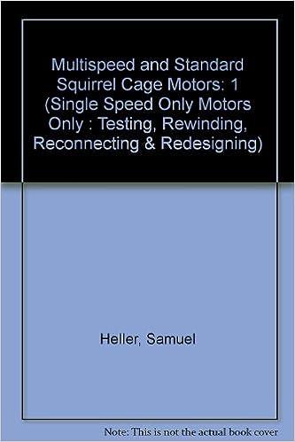 Amazon.com: Multispeed and Standard Squirrel Cage Motors (Single ...