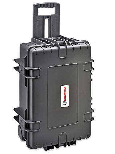 Armacase Ac6700Be Black Rolling Case Empty 21 X 14.1 X 8.9
