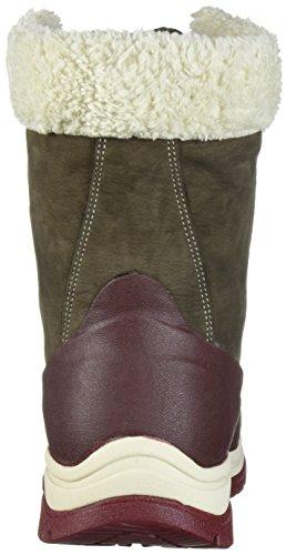 et Bottines Marron Chocolate Pluie de Arctic Cordovan Mid Bottes Lace French Bitter Muck Roast Femme Boots SXYqpp