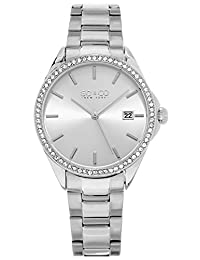 SO & CO New York Women's 5213.1 Madison Quartz Silver Wrist Watches