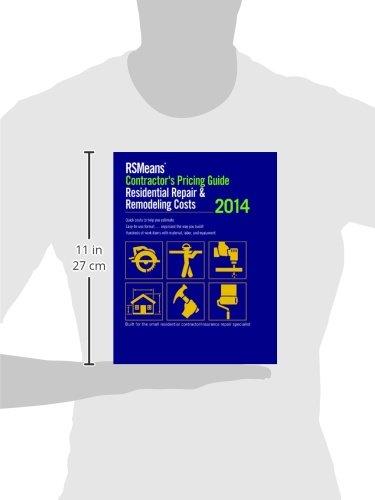 RSMeans Contractors Pricing Guide Residential Repair