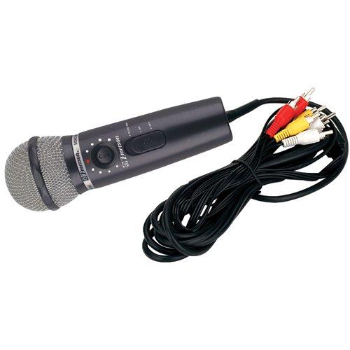Plug N Sing MM205R DVD Plug 'N' Sing Microphone Karaoke System with 30 Karaoke Songs on DVD ()