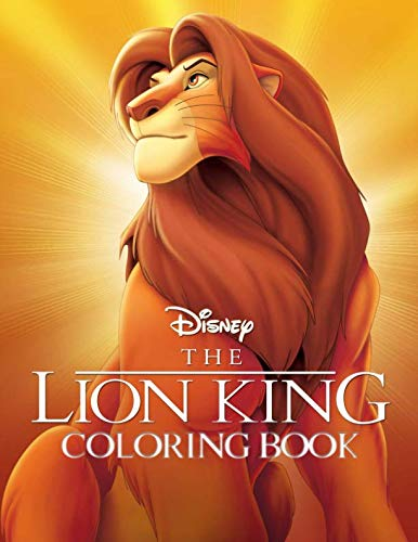 Lion King Coloring Book: Great Coloring Book for