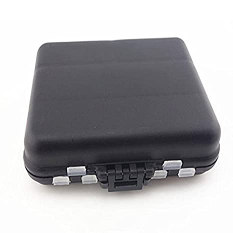 Anyutai Fishing-Lure-Boxes-Bait Tackle-Plastic-Storage Accesorios de Pesca Cajas Contenedores de Almacenamiento Estuche para se/ñuelos peque/ños Mini-Lure-Box para Chalecos