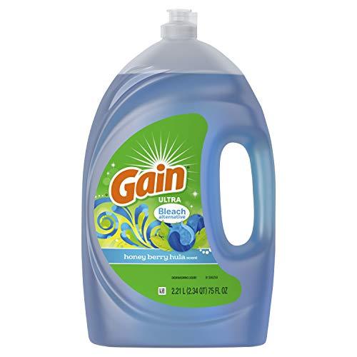 - Gain Ultra Honey Berry Hula Scent Bleach Alternative Dishwashing Liquid Dish Soap, 75 Fl Oz