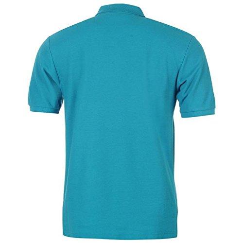 Slazenger Herren Poloshirt weiß weiß Gr. XX-Large, blaugrün