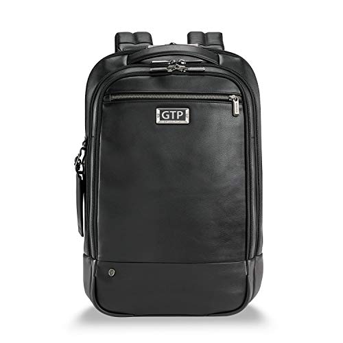 Briggs & Riley Unisex-Adult (Luggage only) Backpack, Black, Monogramming Included