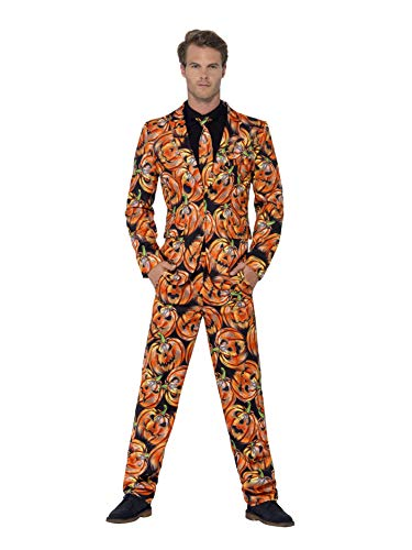Pumpkin Suit With Jacket Trousers & Tie- looks smart