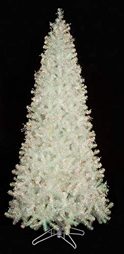 AUF001 光る玉虫色の木 8つの機能 クリスマス サイン入り 11~12フィート B07JVF26QQ