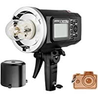 Godox HSS AD600BM Bowens Mount 600Ws GN87 High Speed Sync Outdoor Flash Strobe Light with 2.4G Wireless X System, 8700mAh Battery to Provide 500 Full Power Flashes Recycle in 0.01-2.5 Second