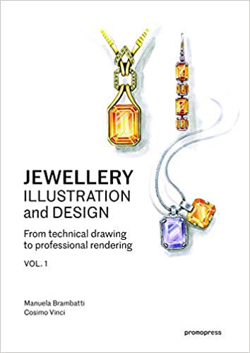 Jewellery Illustration And Design From Technical Drawing To
