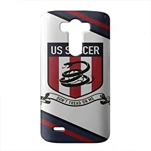 us soccer 3D Phone Case for LG G3