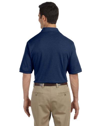 (Jerzees Adult Ring-Spun Cotton Pique Sport Shirt (J. Navy) (4X))