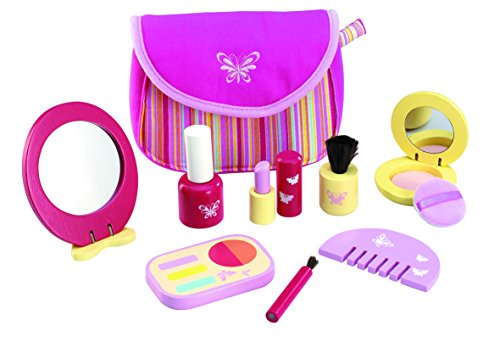 Wonderworld Pretend Pinky Cosmetic Girl Toy Set - - World Cosmetics