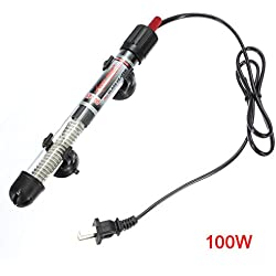 TOOGOO(R)100W Aquarium Fish Tank Heater Submersible Water Adjustable