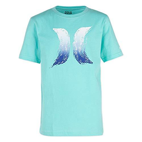 Hurley Boys Icon Graphic T-Shirt, Tropical Twist Splash XL