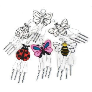 Wind Chime Sun Catchers, Bugs (pack of -