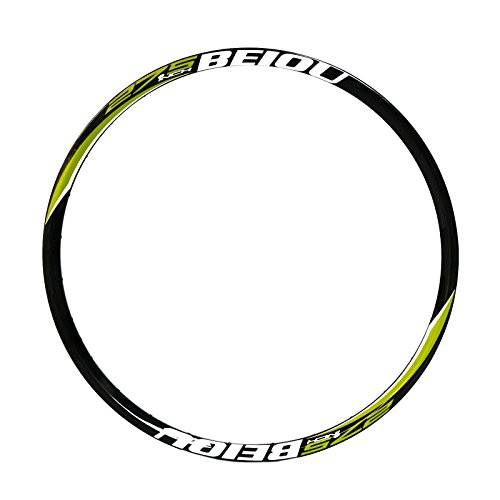 BEIOU Full Carbon Mountain Bike 27.5-Inch Rims 650B 23mm Bike Disc Brake Wheels RM25BY by BEIOU