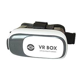 Virtual Reality 3D VR Headset Glasses - Cardboard Helmet Goggles
