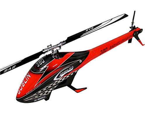 SAB Goblin 380 Flybarless Electric Helicopter Red/Black ()