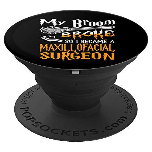 My Broom Broke So I Became Maxillofacial Surgeon