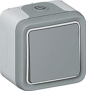 Legrand 0 697 11 Gris interruptor de luz - interruptores de luz (Inclinación, Gris)