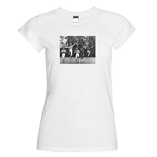 Bay City Rollers Tennis Net Damen Rund Neck T Shirt