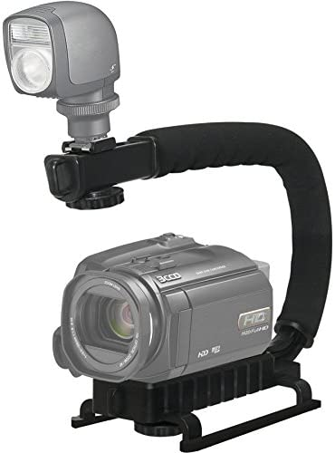Casio Exilim EX-S500 Vertical Shoe Mount Stabilizer Handle Pro Video Stabilizing Handle Grip for