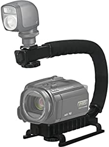 Pro Video Stabilizing Handle Grip for Vertical Shoe Mount Stabilizer Handle Canon PowerShot S200 Digital IXUS v2