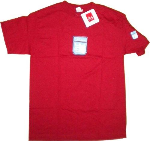 ES Footwear Skateboard T-Shirt Eric Koston Red - Shirt Skate Shoes Wear