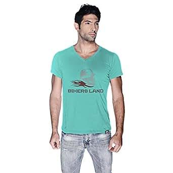 Creo Bikers Land T-Shirt For Men - Xl, Green