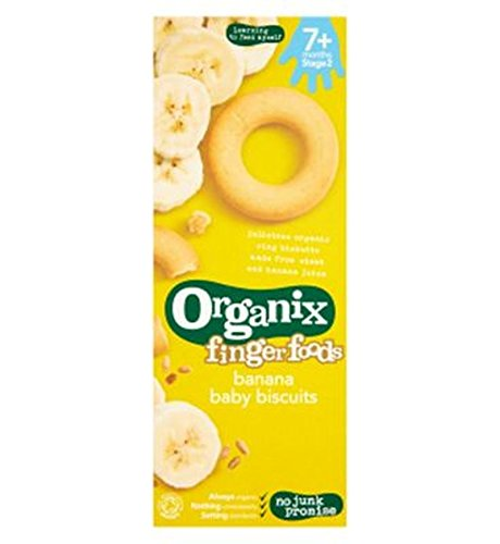 Organix Banana Ring Biscuit 54G - Pack of 6