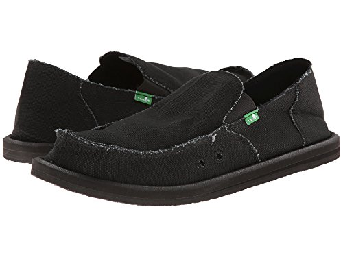 Sanuk Vagabond Shoe Slip on Blackout Men's 77nHr8P