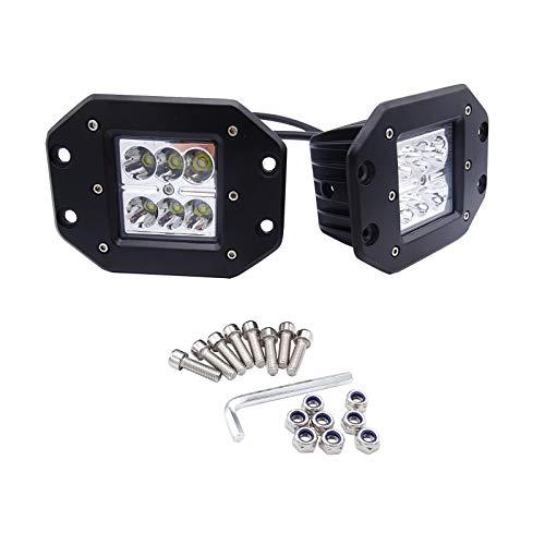 Polaris Sportsman 1000 850 570 RZR 800 24W LED Light Pod Headlight Mounting Kits