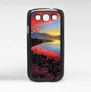 Beach Sunset Setting Hard Snap on Case (Galaxy S3 III) wangjiang maoyi