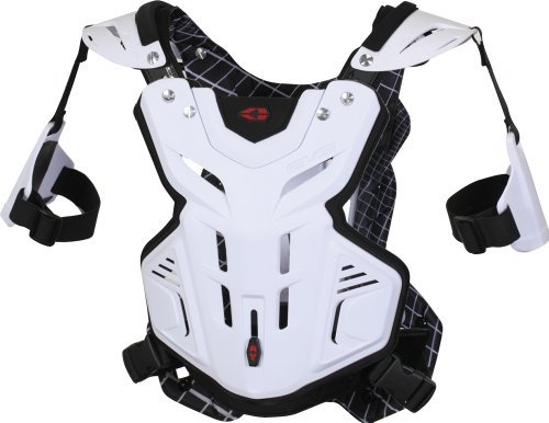 EVS F2 Chest Protector (X-LARGE) (WHITE)