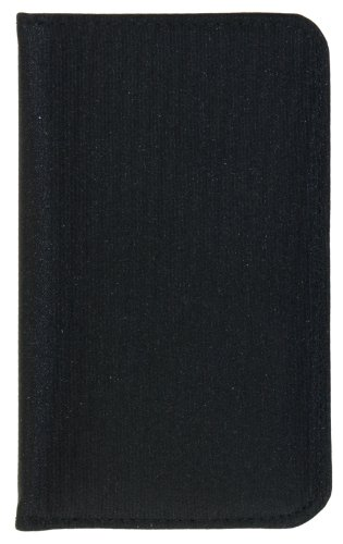 Deluxe Womans Wallet - Buxton Wallets Deluxe Snap Card Case for Women (Black)