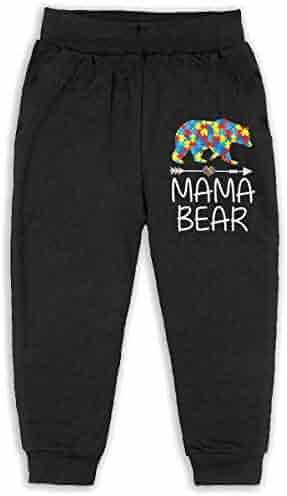 Soft Cozy Girls Boys Elastic Trousers Udyi/&Jln-97 Autism Awareness Ribbon Unisex Baby Pants
