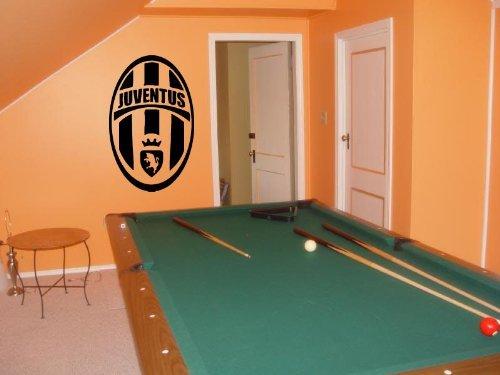 Juventus Logo Emblem Soccer Club Wall Art Sticker Decal 001