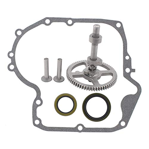 ApplianPar 793880 Camshaft With 697110 Crankcase Gasket & Oil Seal Kit For Briggs and Stratton Replaces # 793583, 792681, 791942, 795102