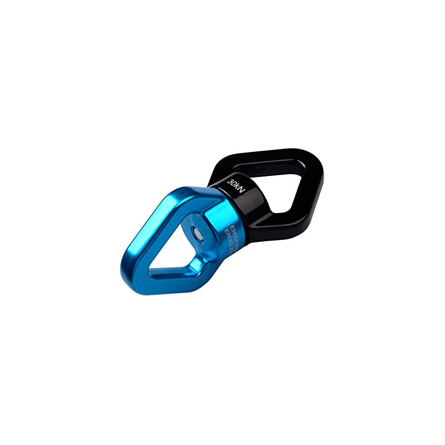 Memela TM 30KN Super Aluminum Alloy Fast 360° Rotator Swing Spinner Rope Swivel Connector Climbing Rotor, Safety Swing Rotational Device Hanging Accessory