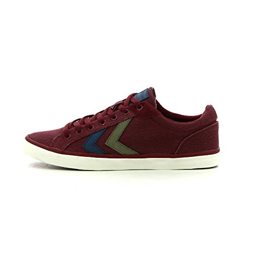 Hummel Deuce Court Waxed Canvas, Unisex Adults' Low-Top Sneakers multicolored
