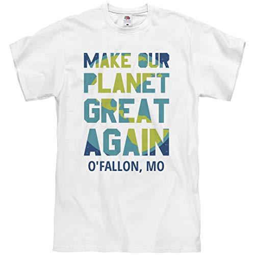 (Make Our Planet Great O'Fallon, MO: Unisex T-Shirt)