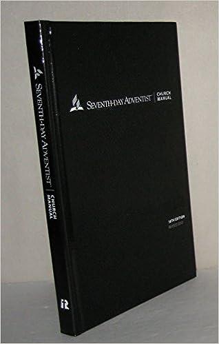 Jssdac sda church manual.
