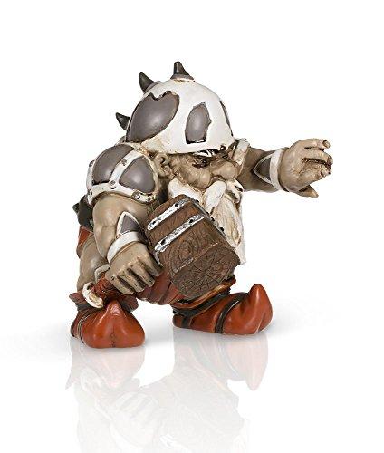 "Gnome Garden: Garden Battle Gnome With Hammer 4"" New"
