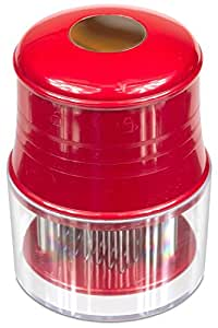 KUCHANG Professional Commercial Quality Kitchen Meat Tenderizer, 56 Ultra Sharp Stainless Steel Blades For Steak, Chicken, Fish, Pork. Lifetime Guarantee(Red)