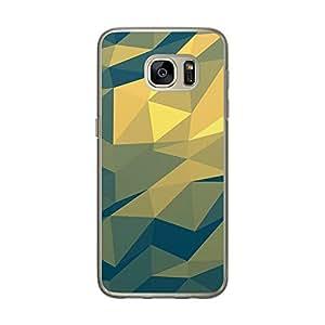 Loud Universe Samsung Galaxy S7 Geomaterical Files A Geo 9 Transparent Edge Case - Multi Color