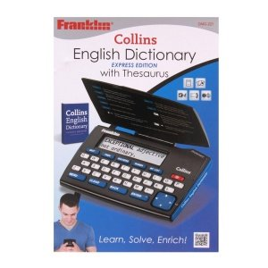Collins English Dictionary with Thesaurus Express Edition (DMQ-221) by Franklin