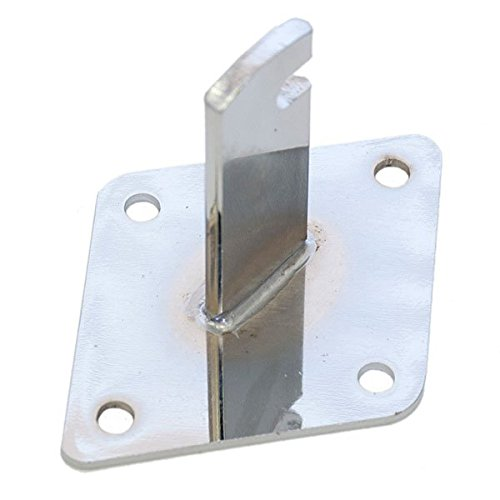 Lot of 100 New Retails Chrome Gridwall Connectors | Wall Mount Brackets by Gridwall Connectors