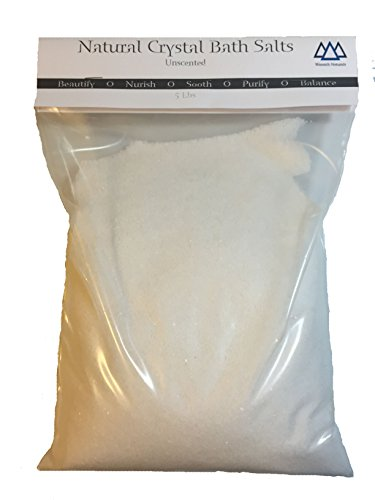 25 Pounds Natural Crystal Bath Salts Wasatch Naturals
